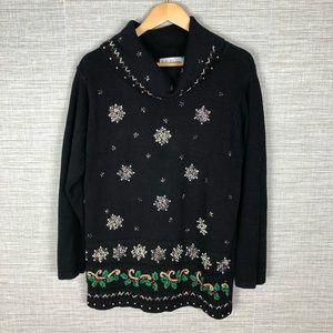 BP Designs Vintage Christmas Tunic Sweater